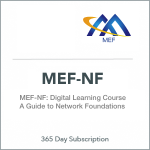 MEF Network Foundations (MEF-NF) Online Digital eLearning Course